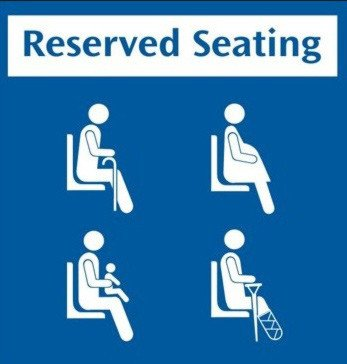 MRT Reserved Seating