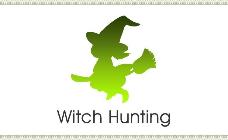 Witch Hunting (Singlish Post)