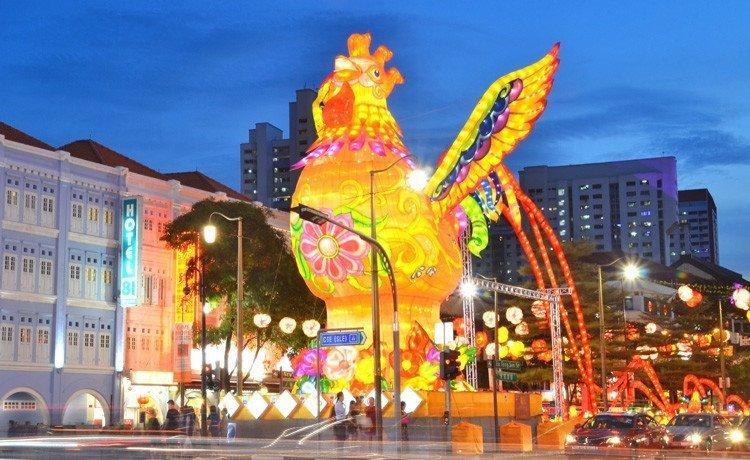 Chinatown Chinese New Year Light-Up 2017