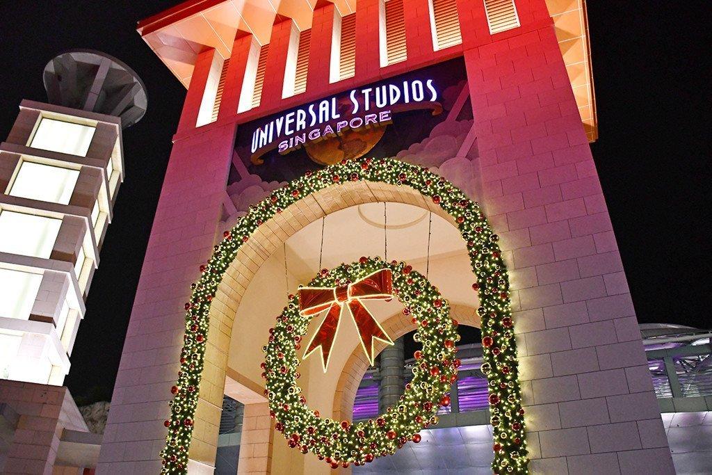Christmas Light-Up in Singapore Part 4 – Universal Studios Singapore