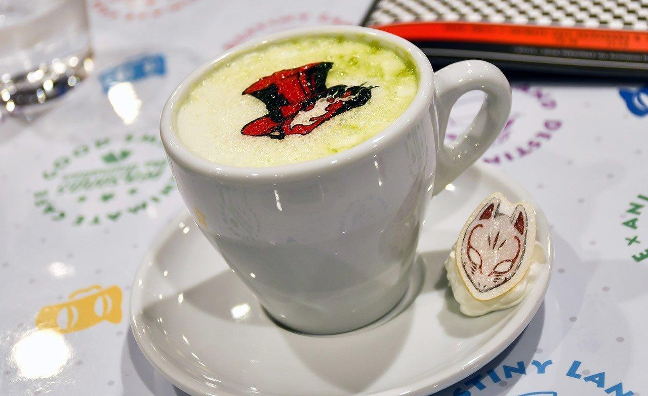 Persona 5: the Animation Café | Geeky Restaurant Adventures 12