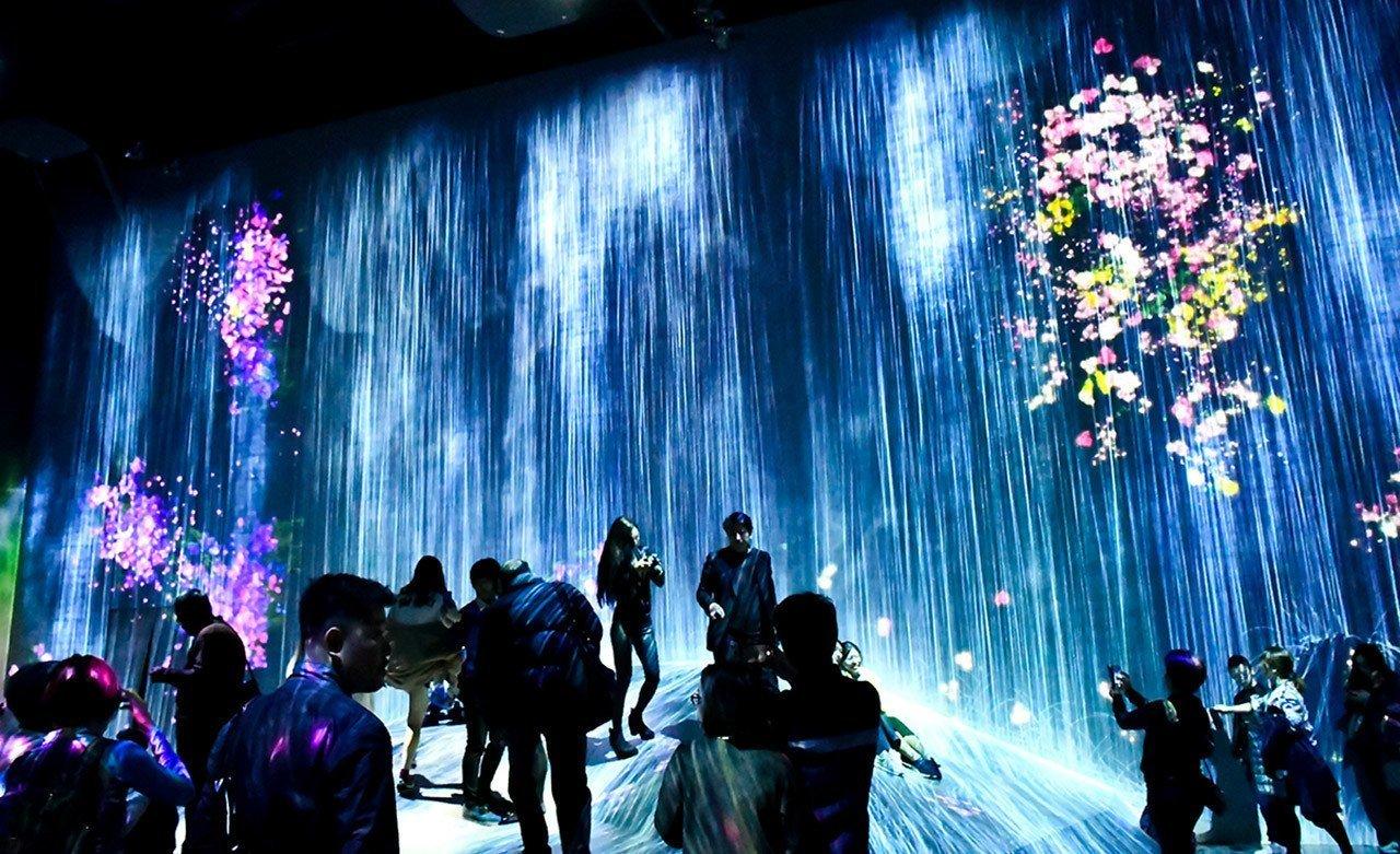 teamLab Borderless Review | Tokyo's New Digital Art Museum in Odaiba