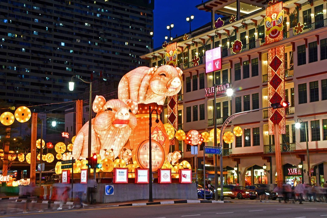 Chinatown Chinese New Year Light-Up 2019