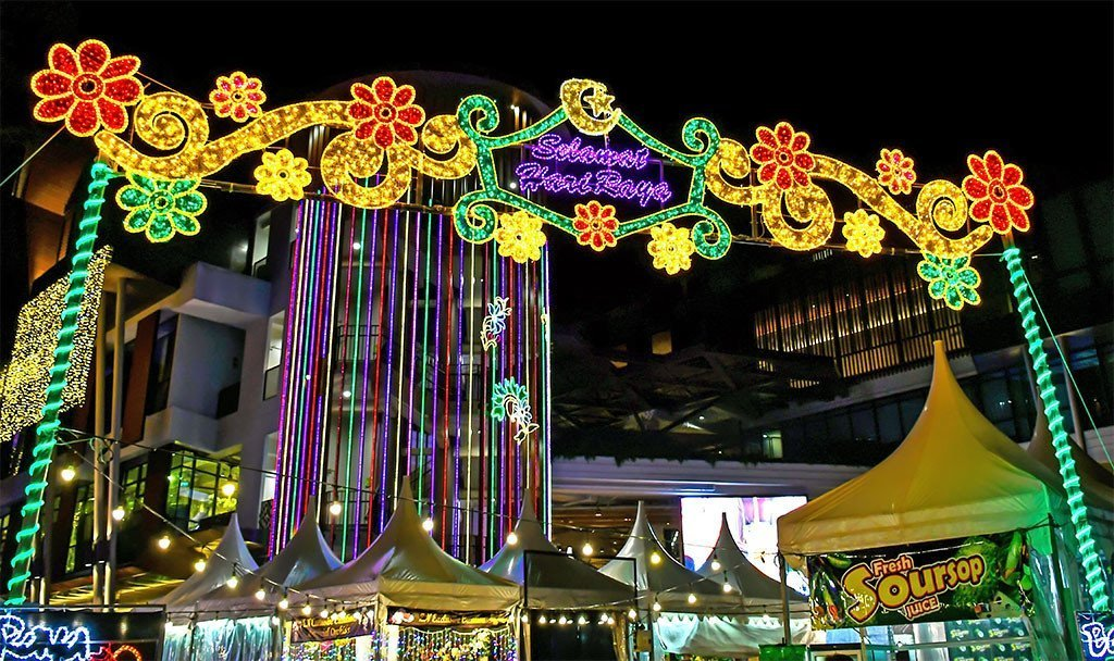 Geylang Serai Bazaar and Festive Lights 2019   Pictures and Montages
