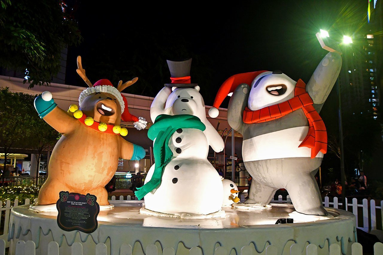 Themed Christmas Decorations in Singapore 2019