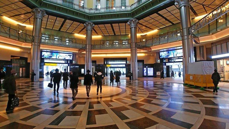 Tokyo Station Interior.
